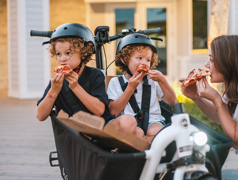 Kiddos pizzas supercargo electric