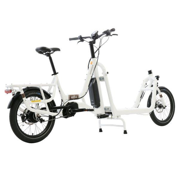 Yuba cargo bikes Electric Supermarche white