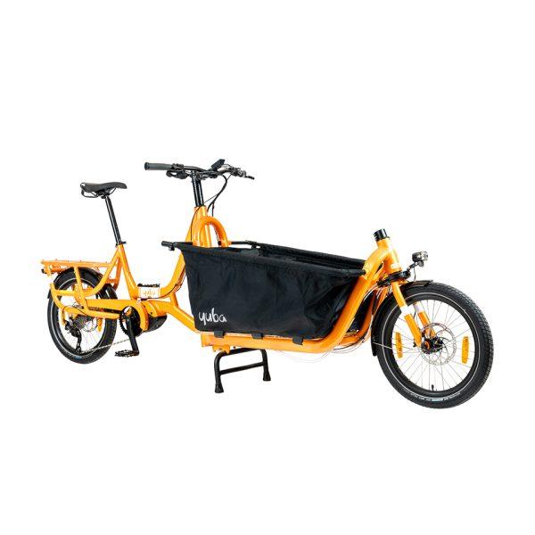 Yuba Cargo Bike Supercargo CL Orange side