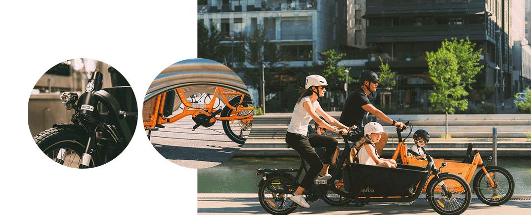 yuba_CARGO_bikes_supercargo_orange_black_velo_cargo